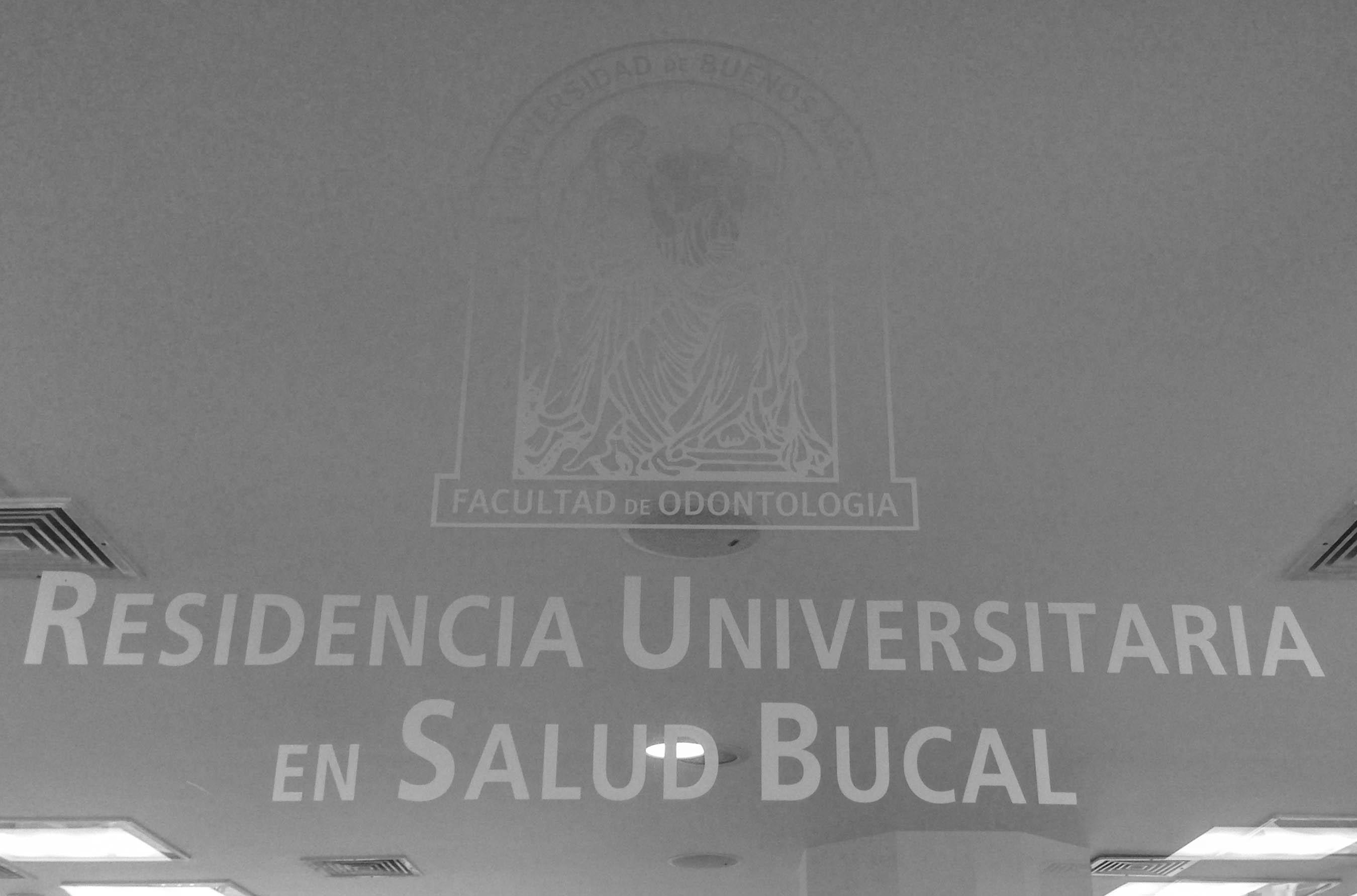 Residencia Universitaria en Salud Bucal 2017